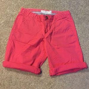 H&M Hot Pink Bermuda Shorts
